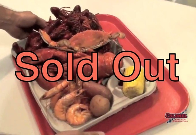 Seafood Sold Out